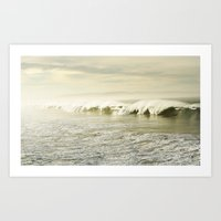 Pismo Waves Art Print