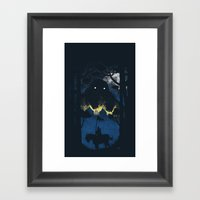 A Rather Dramatic Point … Framed Art Print
