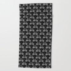 Bicycle Pattern Beach Towel