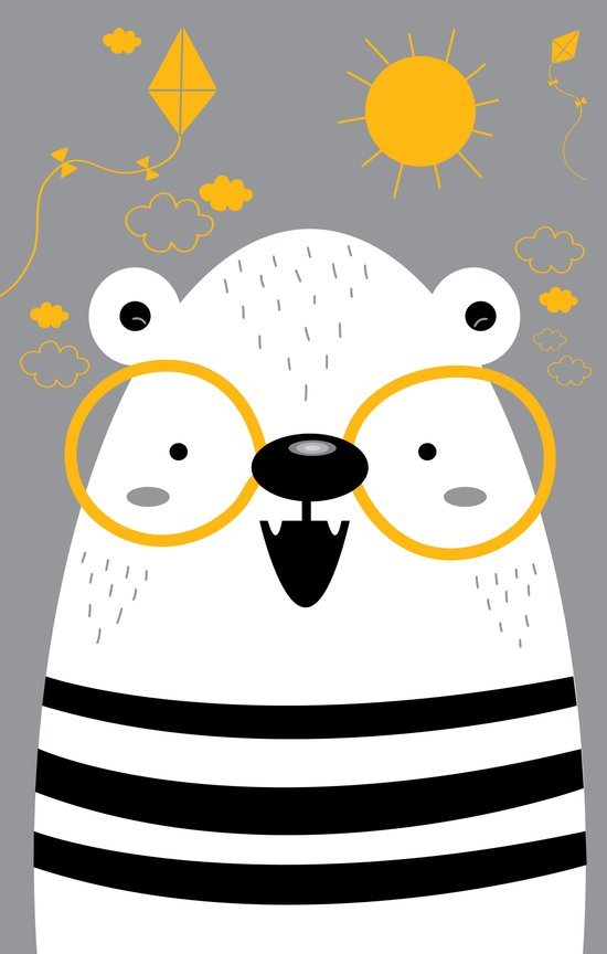 Bear 1 Art Print
