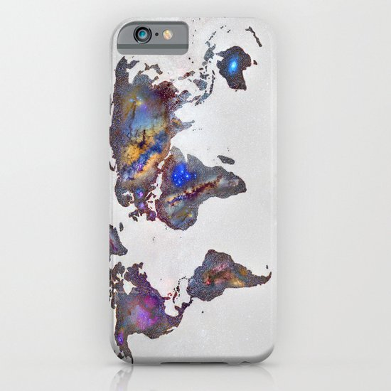 Stars world map iPhone & iPod Case