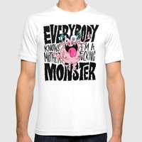 Everybody Knows I'm A Mo… Mens Fitted Tee White SMALL