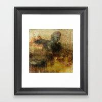 Suffering Framed Art Print