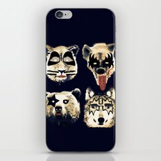 Give me a kiss iPhone & iPod Skin