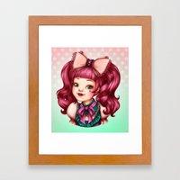 Sweet Lolita Framed Art Print
