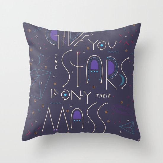 Haikuglyphics - Dear Someone Throw Pillow