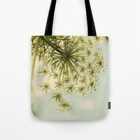 Botanical Queen Anne's Lace Tote Bag