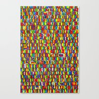 The Masses Canvas Print
