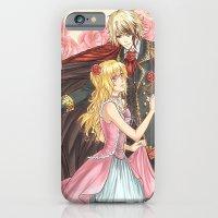 Dancing roses iPhone 6 Slim Case