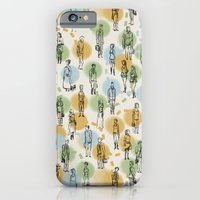 iPhone & iPod Case featuring 64 Popular People and a Dog (Pattern) by Jeff Szuc