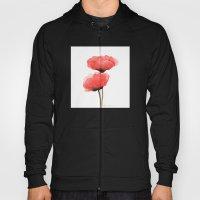 Red Flower Hoody