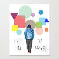 I'll Find Canvas Print
