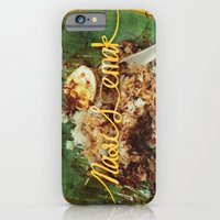 iPhone & iPod Case featuring Fatty Rice by blackodc