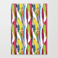 Patchwork pattern Canvas Print