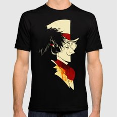 Jekyll and Hyde Silhouettes Mens Fitted Tee Black SMALL