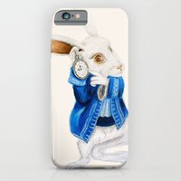 """iPhone & iPod Case featuring """"I'm late, I'm late, for a very important date!"""" by Olivia Nicholls-Bates"""