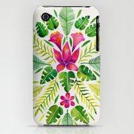 Tropical Symmetry – Pi… iPhone (3g, 3gs) Slim Case
