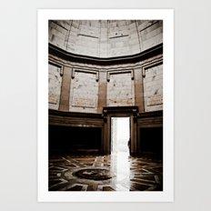 Inside Monument Art Print