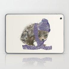 little winter hedgehog Laptop & iPad Skin