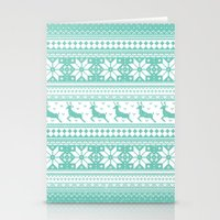 Reindeer Sweater Stationery Cards