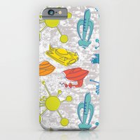 Atoms and Spaceships iPhone 6 Slim Case
