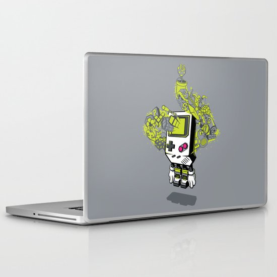Pixel Dreams Laptop & iPad Skin