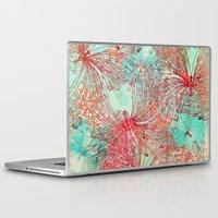 butterfly Laptop & iPad Skins featuring Butterfly Pattern by Klara Acel