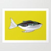 Whale, Whale Art, Whale … Art Print