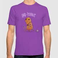 Bad Peanut Mens Fitted Tee Ultraviolet SMALL