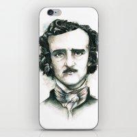 Edgar Allan Poe and Ravens iPhone & iPod Skin
