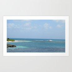 Shipwrecked - Antigua Art Print