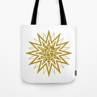 Star (gold) Tote Bag