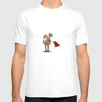 Gossip Mens Fitted Tee White SMALL