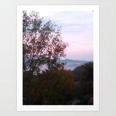 Mist of Dawn Art Print