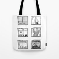 Every Window Is A Story Tote Bag