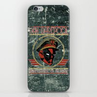 Dan Darepool: Insane Ninja-Merc of the Future iPhone & iPod Skin