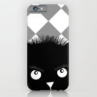 iPhone & iPod Case featuring cat by MatoSwamp