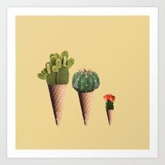 3 Cactus Art Print
