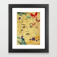 Shocked! Framed Art Print