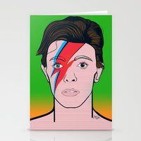 David Bowie Stationery Cards