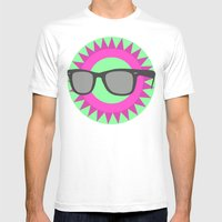 Mist  Mens Fitted Tee White SMALL