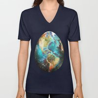 Somewhere In The Univers… Unisex V-Neck