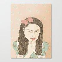 Aida Folch Canvas Print