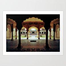 Temple of Ozoo Art Print