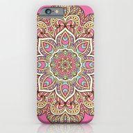 Pink Mandala iPhone 6 Slim Case