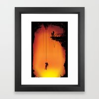 The Forge  Framed Art Print