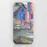 iPhone & iPod Case featuring Sunlit Farm by Garyharr