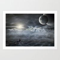 Silent Rise Art Print