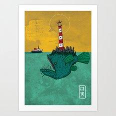 Subterfuge Art Print