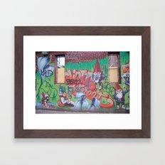 streets Framed Art Print
